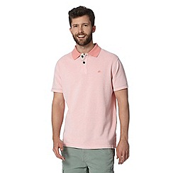 Mantaray - Big and tall light pink heavy pique polo shirt