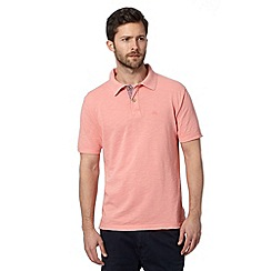 Mantaray - Pink pique polo shirt