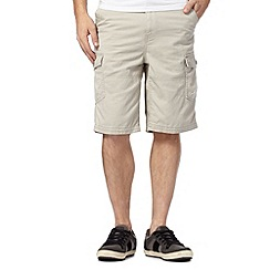 Mantaray - Big and tall natural cargo shorts