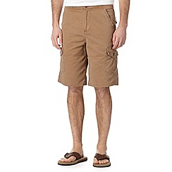 Mantaray - Dark tan cargo shorts