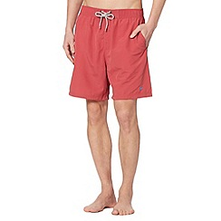 Mantaray - Dark pink plain swim short