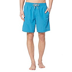 Mantaray - Big and tall turquoise plain swim shorts