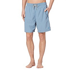 Mantaray - Big and tall light blue plain swim short