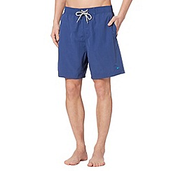 Mantaray - Dark blue plain swim shorts