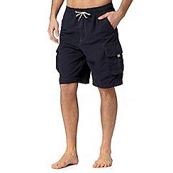 Mantaray - Navy cargo swim shorts