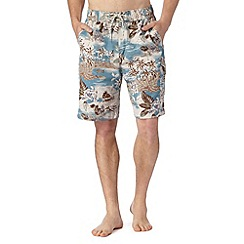 Mantaray - Blue beach hut swim shorts