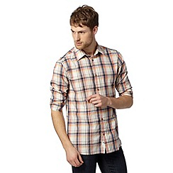 Mantaray - Off white checked shirt