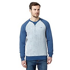 Mantaray - Blue raglan sweater