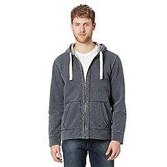 Mantaray - Blue pique hoodie