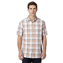 Mantaray - Big and tall red linear checked shirt