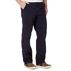 Mantaray - Big and tall navy classic fit chinos