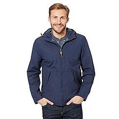 Mantaray - Navy hooded jacket