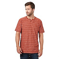 Mantaray - Orange striped t-shirt
