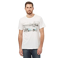 Mantaray - White camper van t-shirt