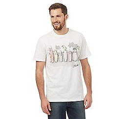 Mantaray - White Christmas surfboard t-shirt