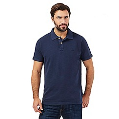 Mantaray - Navy pique polo shirt