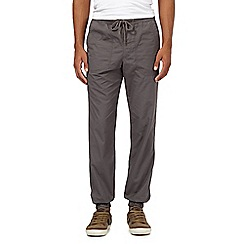 Mantaray - Dark grey ripstop jogger bottoms