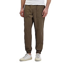 Mantaray - Khaki ripstop jogger bottoms