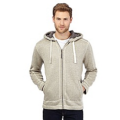 Mantaray - Big and tall natural sherpa hoodie