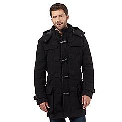Mantaray - Dark grey duffle coat