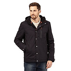 Mantaray - Big and tall black waterproof jacket