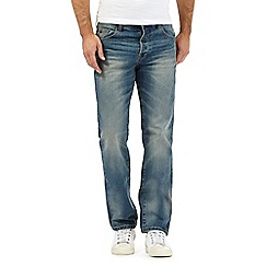 Mantaray - Big and tall blue loose fit jeans