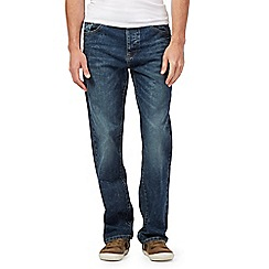 Mantaray - Mid wash blue straight leg jeans
