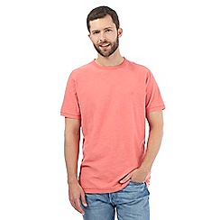 Mantaray - Pink textured t-shirt