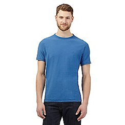 Mantaray - Blue textured t-shirt