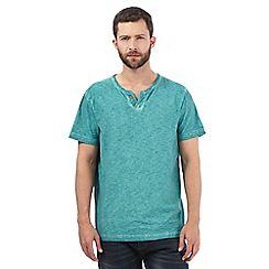 Mantaray - Green oil wash t-shirt