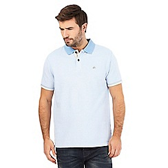 Mantaray - Big and tall light blue polo shirt