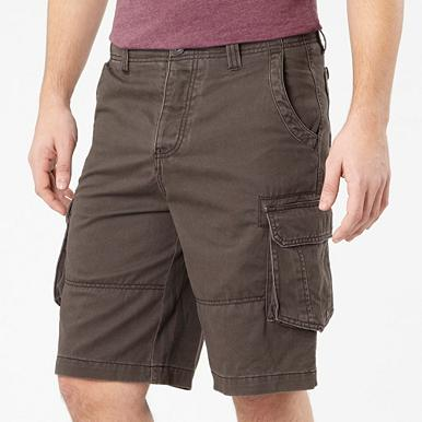 Chocolate cargo shorts