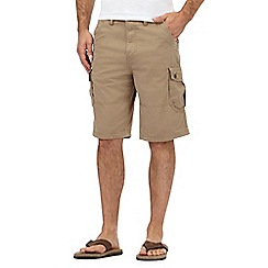 Mantaray - Taupe cargo shorts