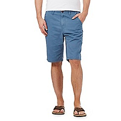 Mantaray - Big and tall blue chino shorts