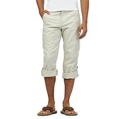 Mantaray - Cream linen blend trousers