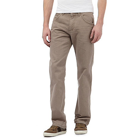 Mantaray - Natural textured trousers