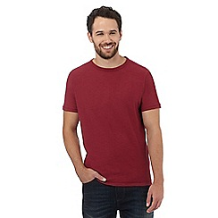 Mantaray - Dark red marl effect t-shirt