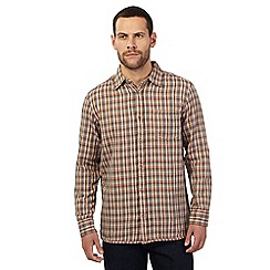 Mantaray - Big and tall multi-coloured checked print shirt