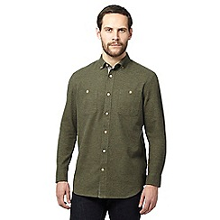 Mantaray - Khaki textured shirt