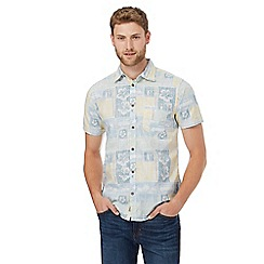 Mantaray - Multi-coloured Hawaiian print shirt