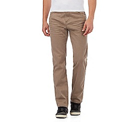 Mantaray - Beige straight leg trousers