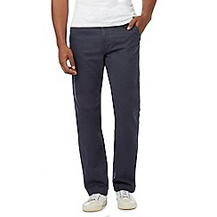 Mantaray - Big and tall navy straight leg chino trousers