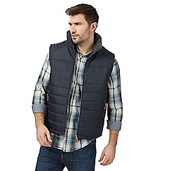 Mantaray - Navy padded gilet