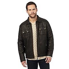 Mantaray - Brown biker jacket