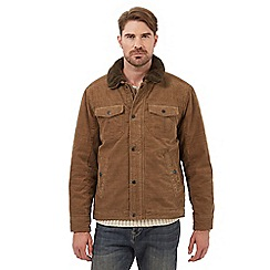 Mantaray - Big and tall tan harrington jacket