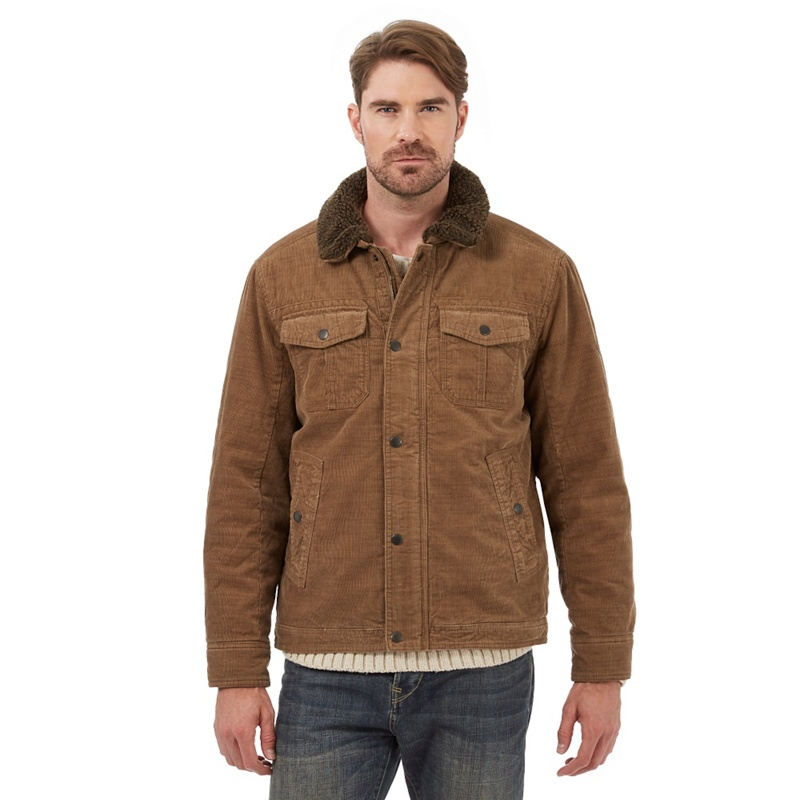 Big & Tall Mantaray Tan Harrington Jacket, Mens, Size: XXL