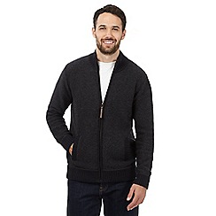 Mantaray - Grey zip-through cardigan