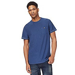 Mantaray - Navy pocket crew neck t-shirt