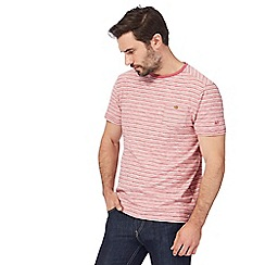 Mantaray - Pink striped t-shirt
