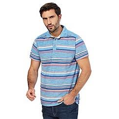 Mantaray - Big and tall multi-coloured stripe polo shirt